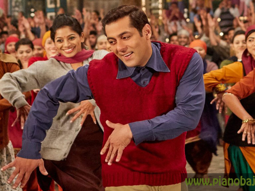 Radio Song Piano Note - Tubelight