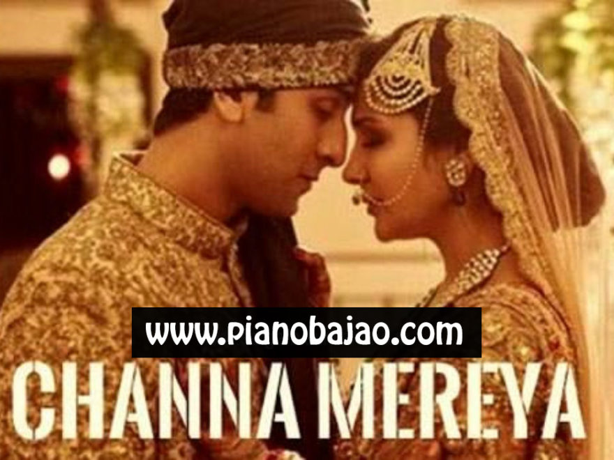 Channa Mereya Piano Notes Pianobajao