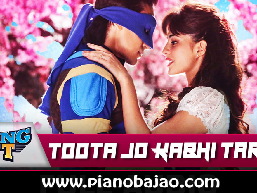 Toots Jo Kabhi Tara Piano Notes