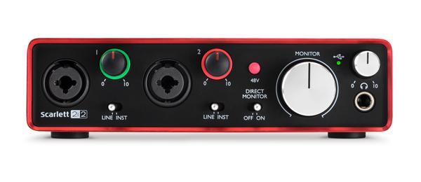 audio interface pianobajao