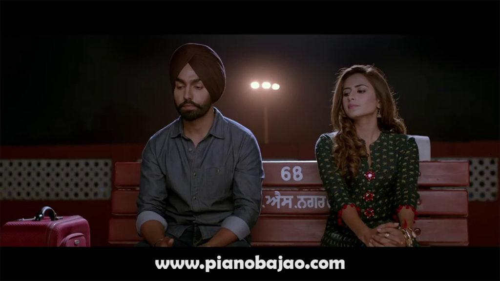 Qismat Full Piano Notes Ammy Virk Punjabi Song | Pianobajao