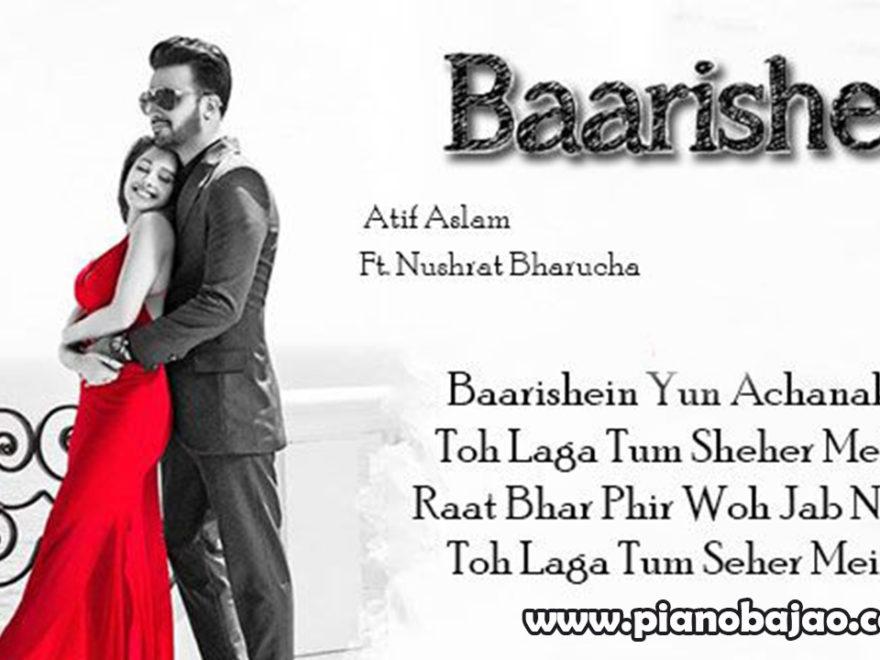Baarishein Piano Notes | Atif Aslam