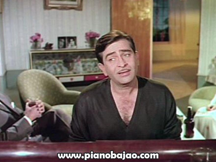 Dost Dost Na Raha Piano Notes | Sangam (1964)