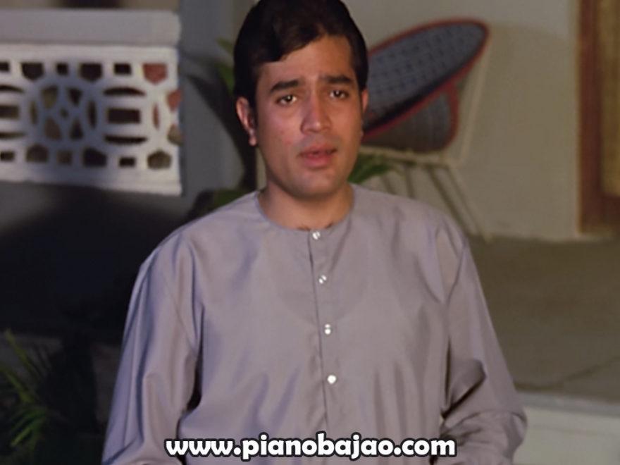 Kahin Door Jab Din Dhal Jaye Piano Notes Pianobajao