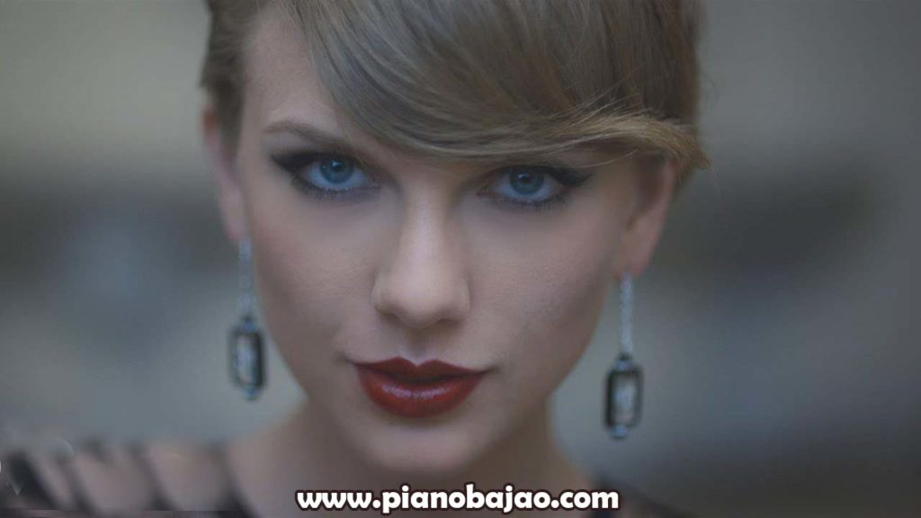 Blank Space Piano Notes