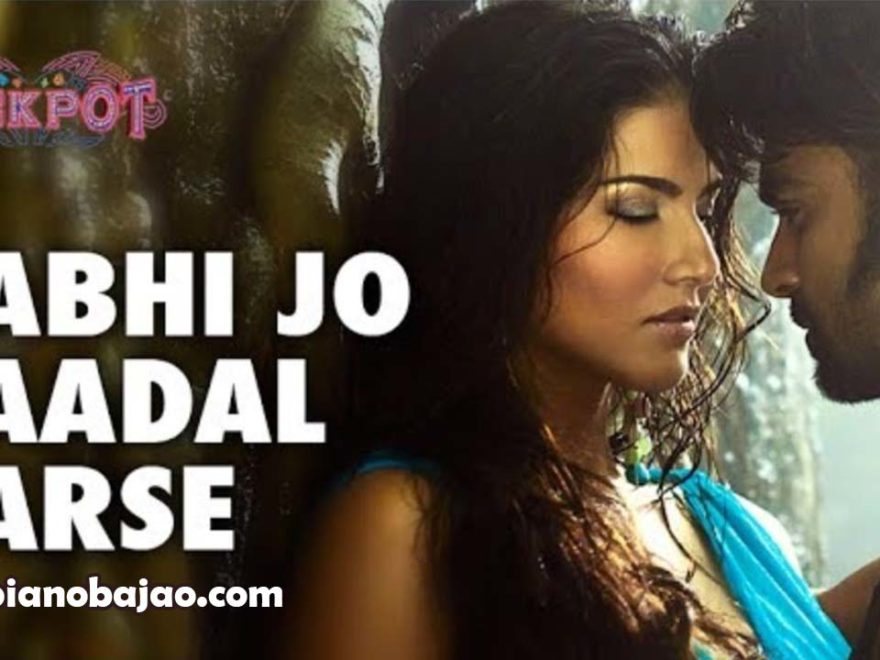 Kabhi Jo Badal Barse Piano Notes