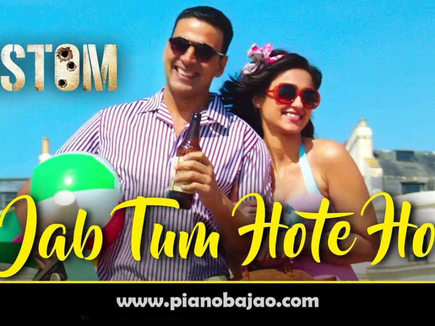 jab tum hote ho piano notes