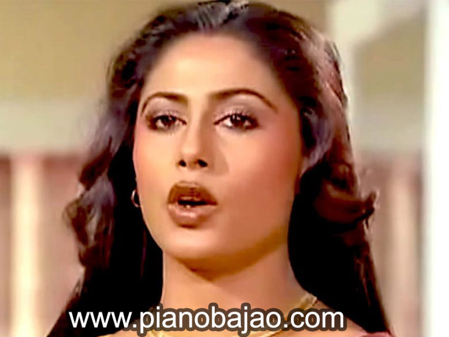 Dushman Na Kare Dost Ne Woh Piano Notes from Aakhir Kyon