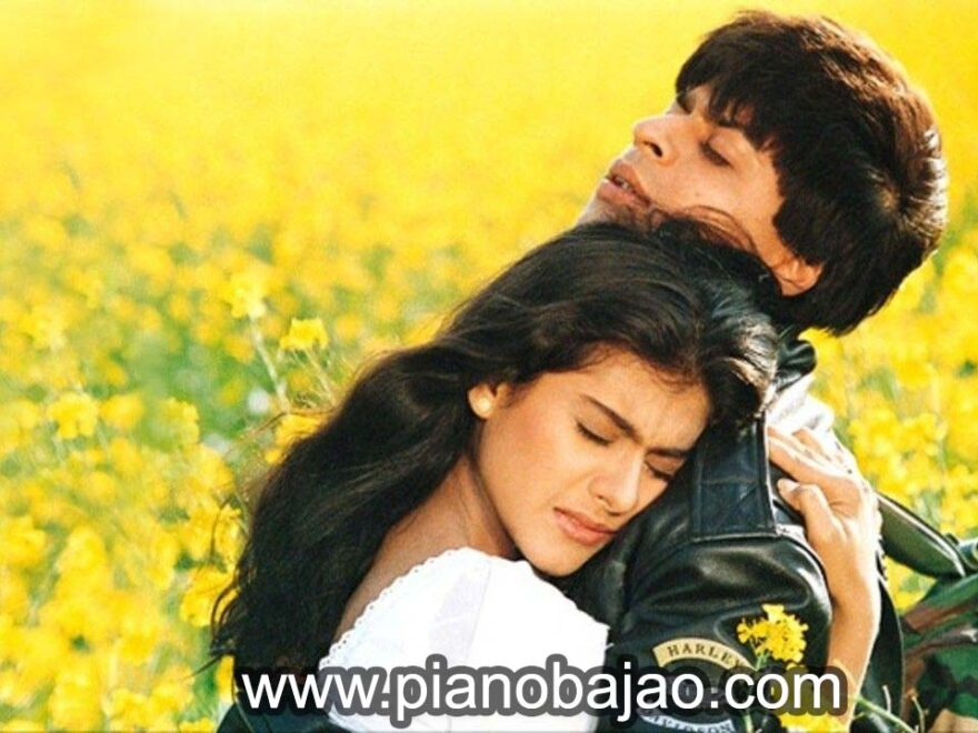 Tujhe Dekha To Ye Jana Sanam Piano Notes