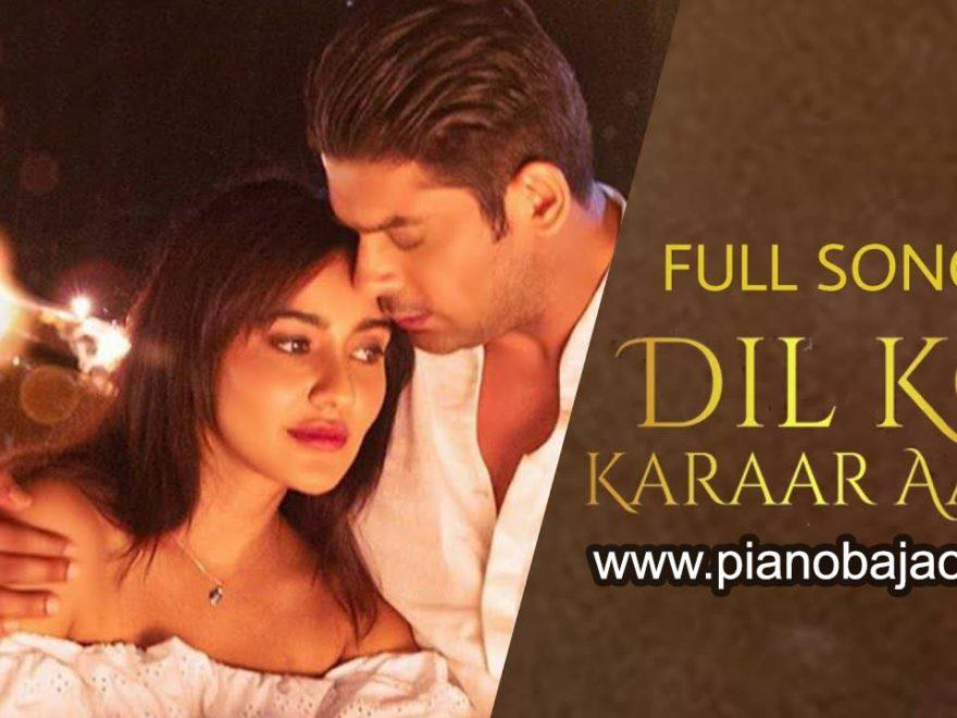 Dil Ko Karar Aaya piano notes for hindi songs