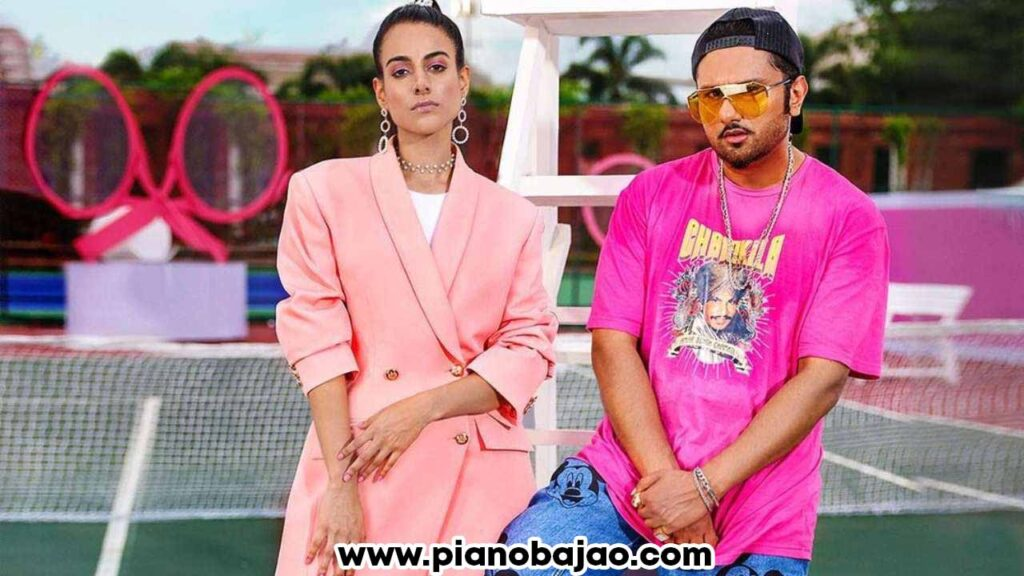 First Kiss Honey Singh Piano Notes