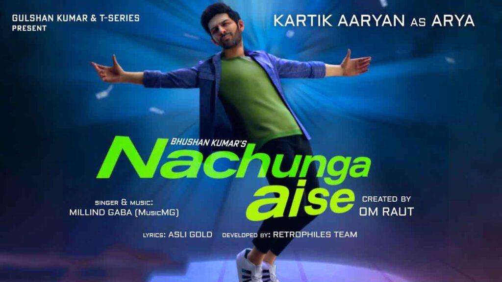 Nachunga aise piano notes Kartik Aryan