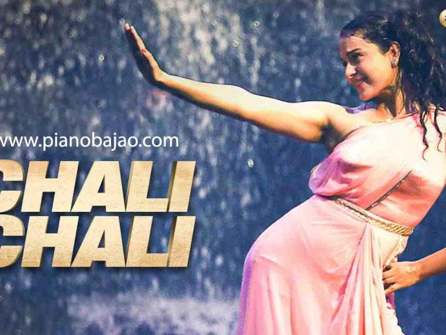 Chali Chali Thalvi Piano Notes