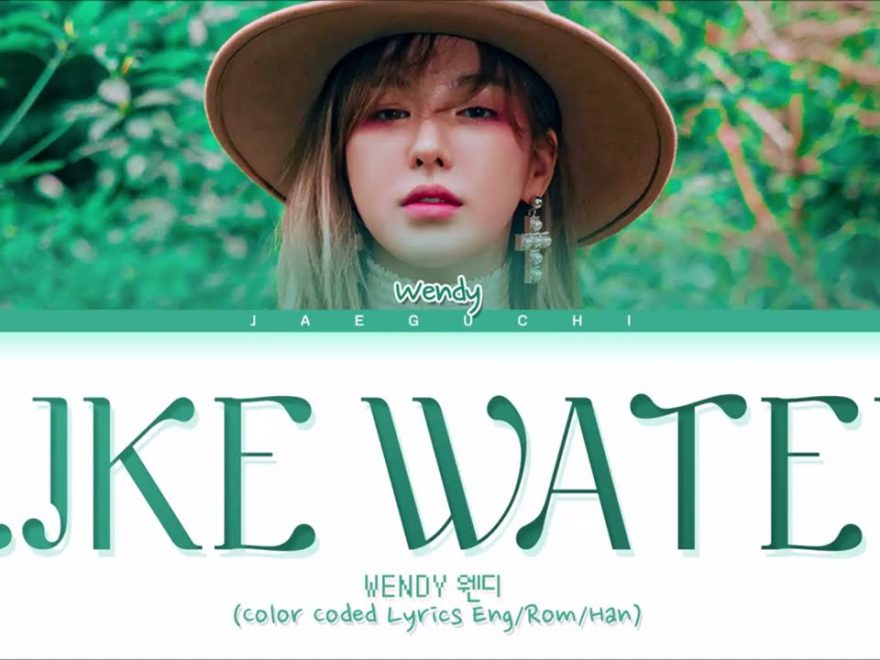 Like Water Piano Notes Wendy