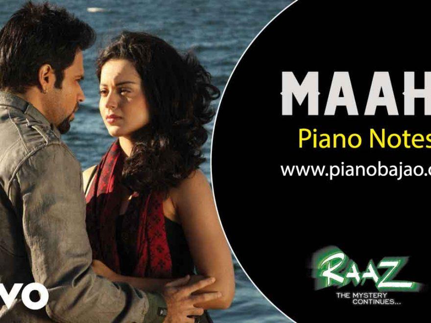 Maahi Piano Notes Raaz 2