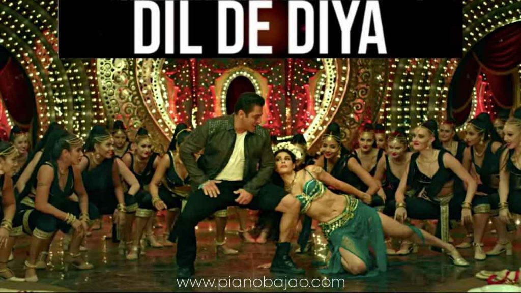 Dil De Diya Radhe Piano Notes