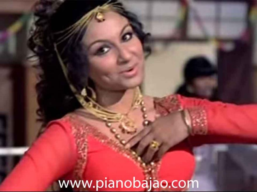 Wada Karo Nahi Chhodoge Tum Mera Sath Piano Notes