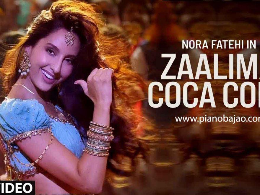 Zaalima Coca Cola Piano Notes