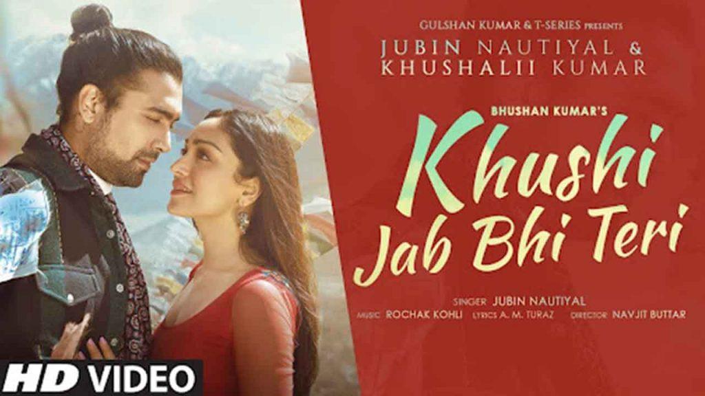 Khushi Jab Bhi Teri Piano Notes Jubin Nautiyal