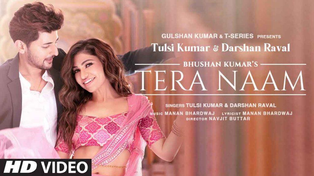Tera Naam Piano Notes Darshan Raval Tulsi Kumar